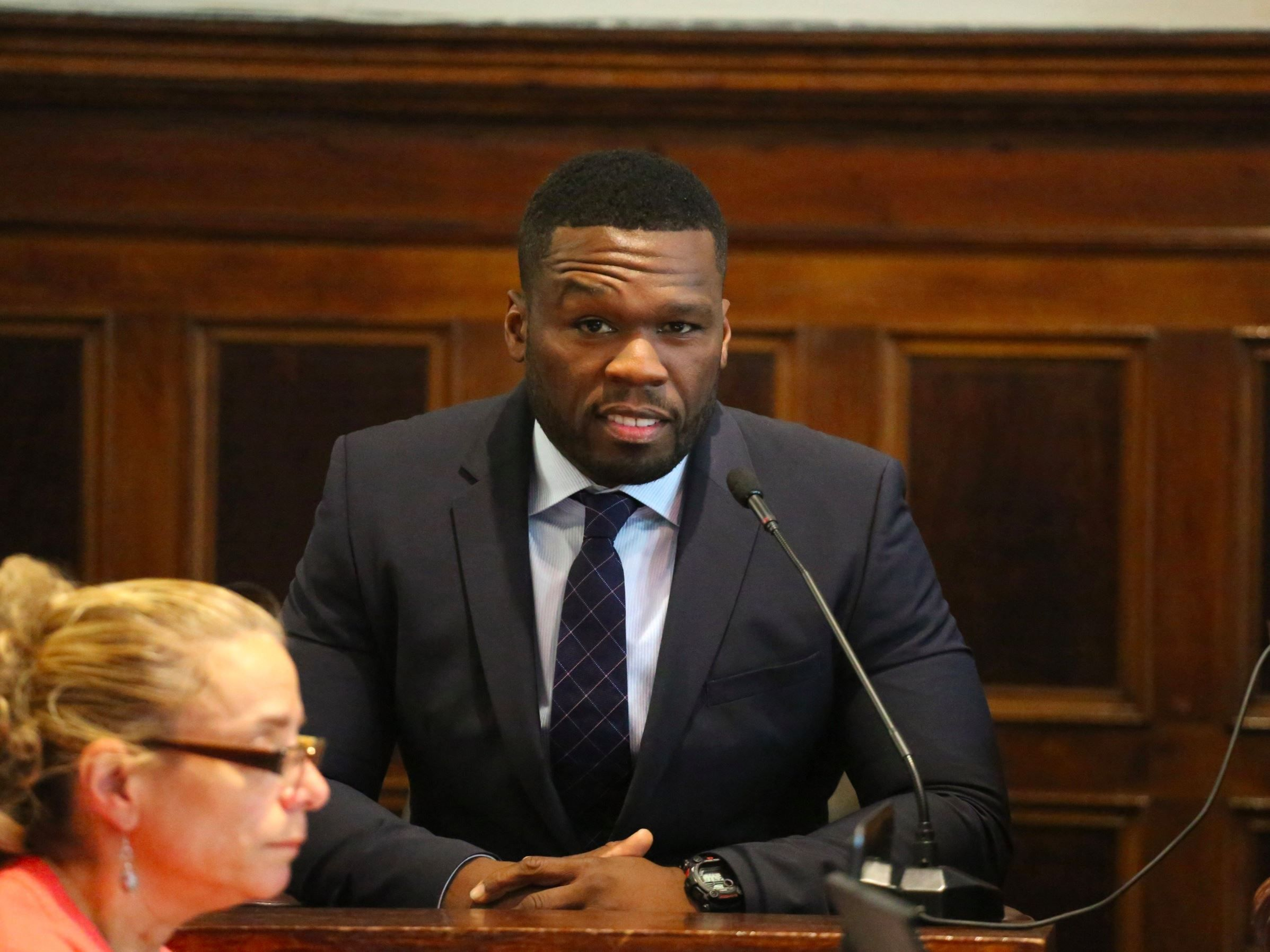 Heres how 50 cent says his fortune of about 25 million