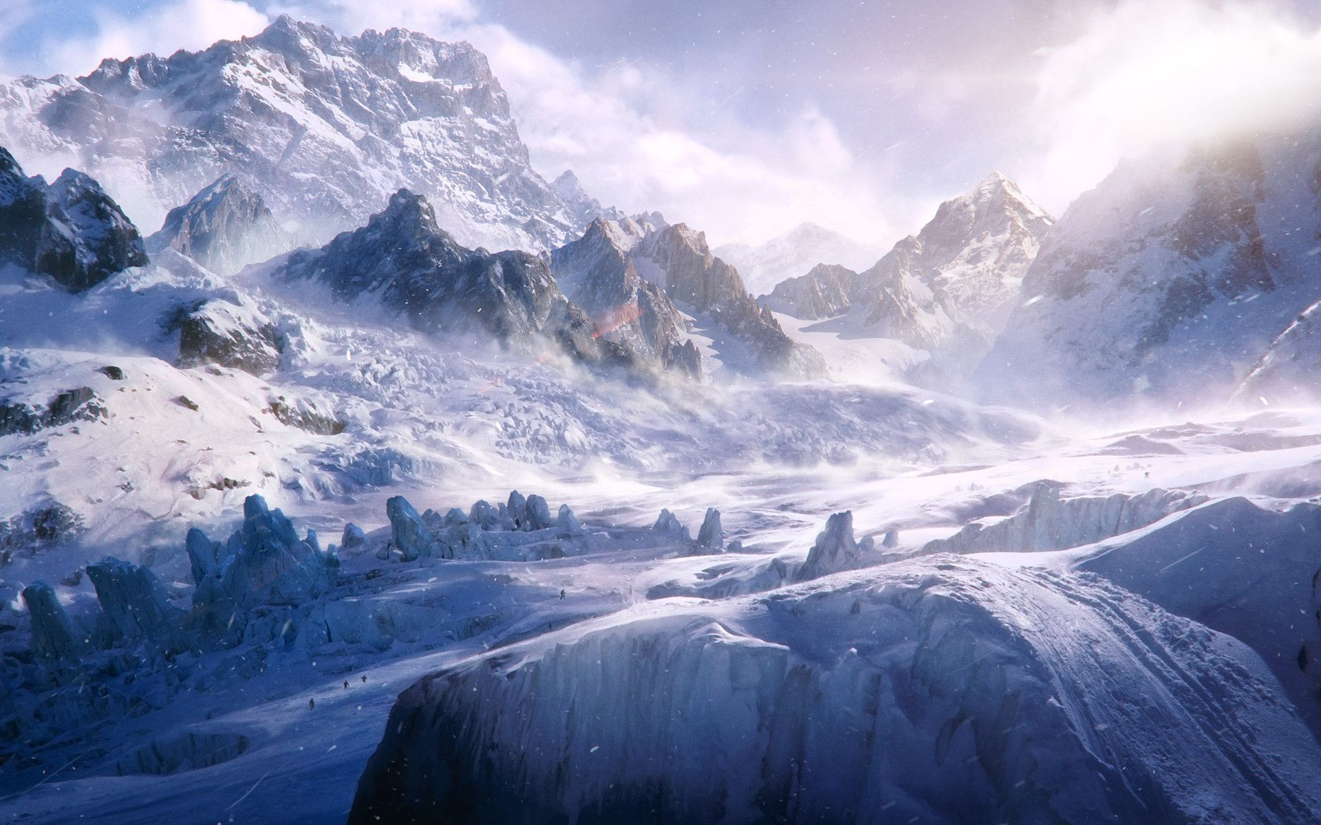 Frozen Tundra 1920 X 1200 Hd Landscape Beautiful Landscape Wallpaper Landscape Wallpaper