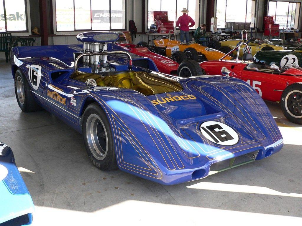 1968 McLaren M6B Sunoco Special Classic racing cars