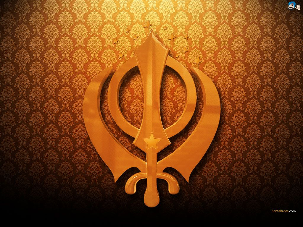 Waheguru Quotes Wallpaper Khanda Is Commonly Called The Sikh Coat Of Arms Or