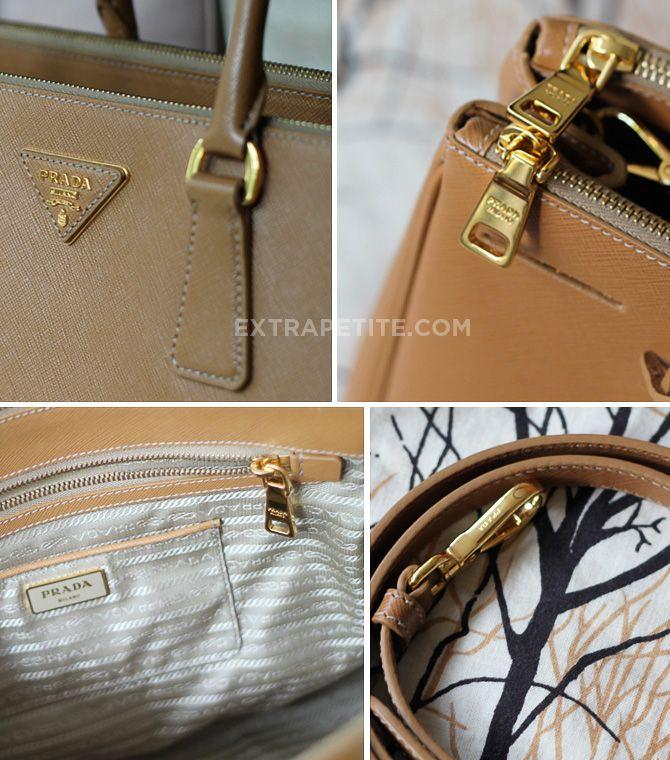 Review  Prada Saffiano Lux   Galleria Double Zip Tote Bag  201f190fdc564