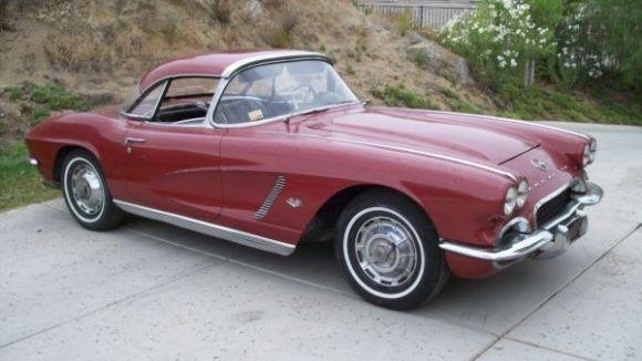 Survivor For Sure Black Plate 1962 Chevrolet Corvette Bring A