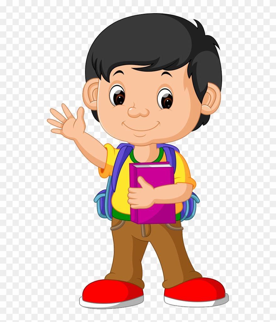 School Boy Clipart Png | Student cartoon, Clip art school ... (880 x 1026 Pixel)