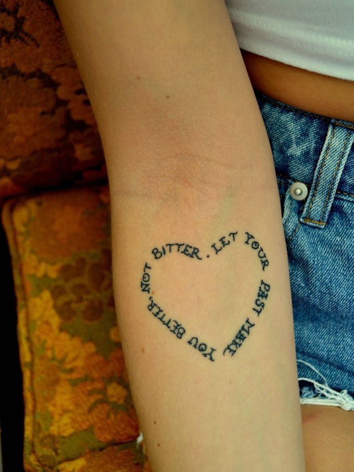 Tattoo · Love Quotes Simple Tattoo Designs