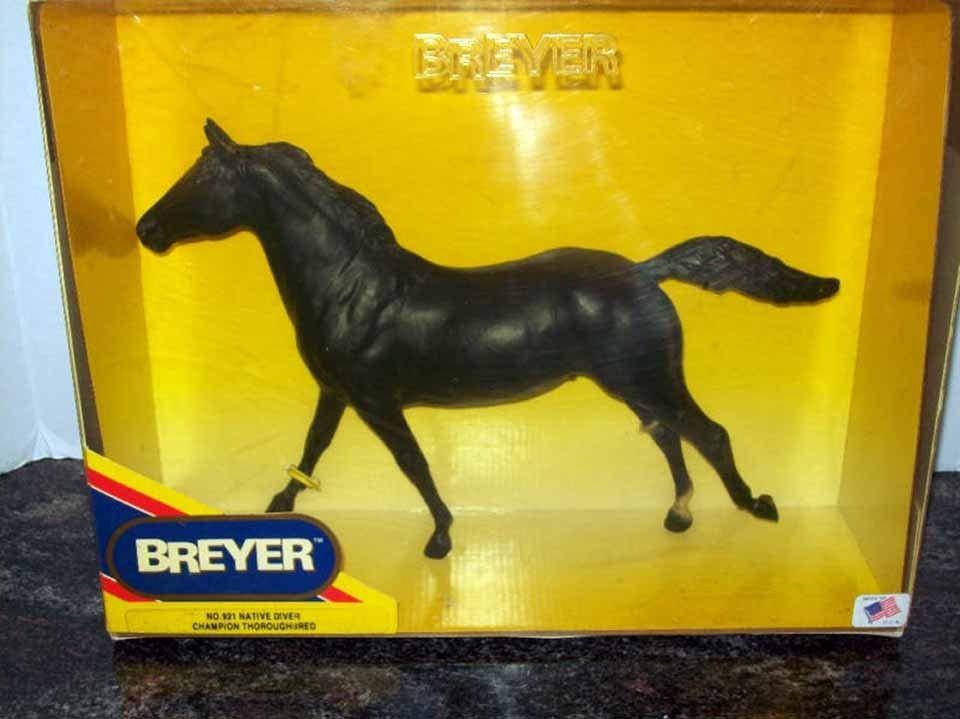 1990 BREYER NATIVE DIVER CHAMPION THOROUGHBRED #921