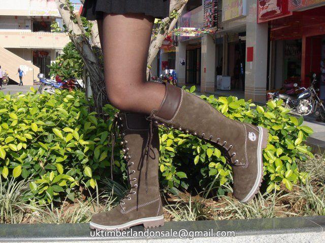 botte longue timberland femme
