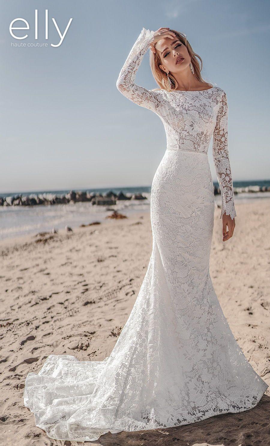 Elly Wedding Dresses Los Angeles Nyc White Mykonos Bridal Collections Wedding Inspirasi In 2020 Wedding Dresses Wedding Dresses Los Angeles Fit And Flare Wedding Dress
