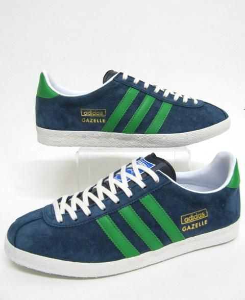 on sale c0339 9e568 Adidas Gazelle OG Trainers in Petrol Blue Green,gazelle og blue petrol