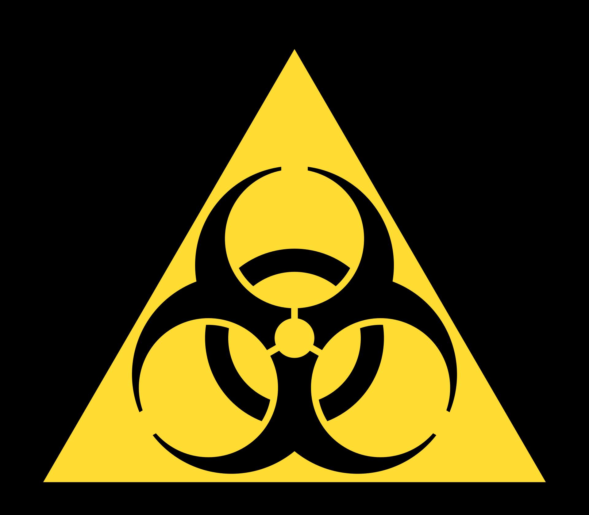 Biohazard Hazard Symbol Wikipedia Tatoeages