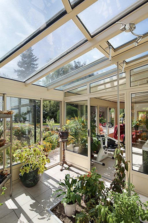 Agrandissement de maison : 12 vérandas de pointe | Modele de veranda, Veranda et Jardin d'hiver