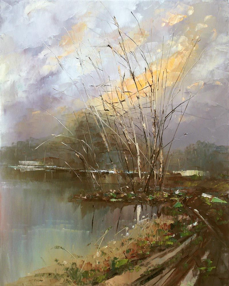 Canvas Painting Oil Painting Knife Landscape Oil Painting Impressionism Spring Canvas Painting Landscape Oil Painting Landscape Oil Painting