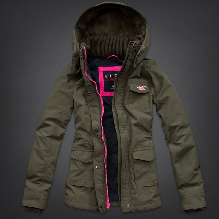 Hollister All Weather Parka | Fun & Fancy Fashion Facts ...