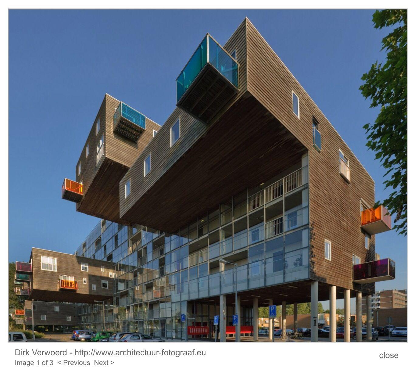 Architektur Amsterdam wozoco woonzorgcomplex amsterdam m a ned