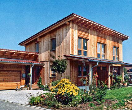 ökologisches Holzhaus – Fertighaus