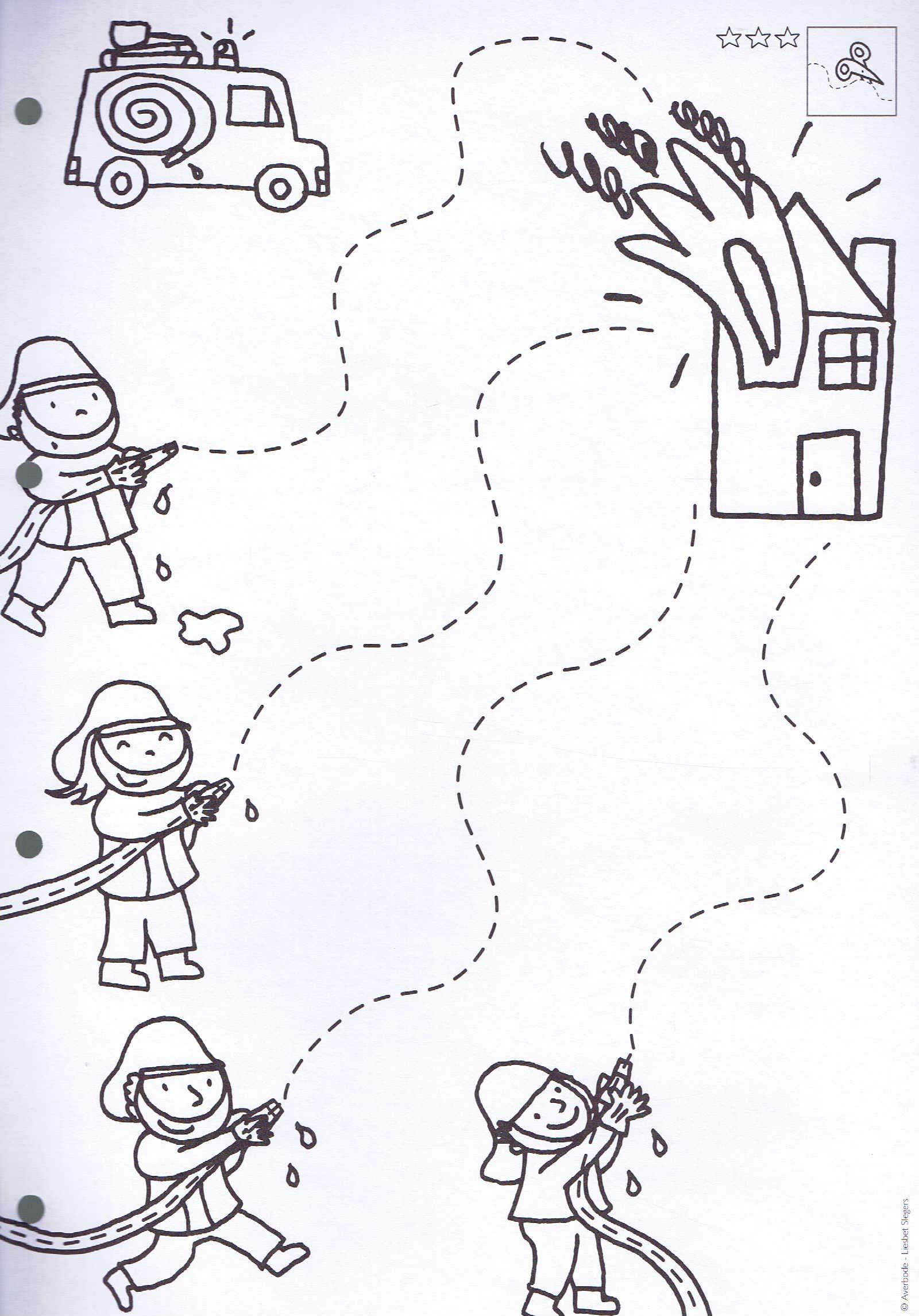 Brandweer Schrijfmotoriek