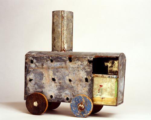 Carro no. 10 - scultura di Annalisa Ramondino