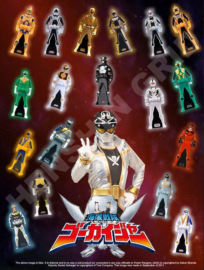 Gokai Silver ~ Ranger Keys ~ Power Rangers Super Megaforce ~ Sentai Gokaiger