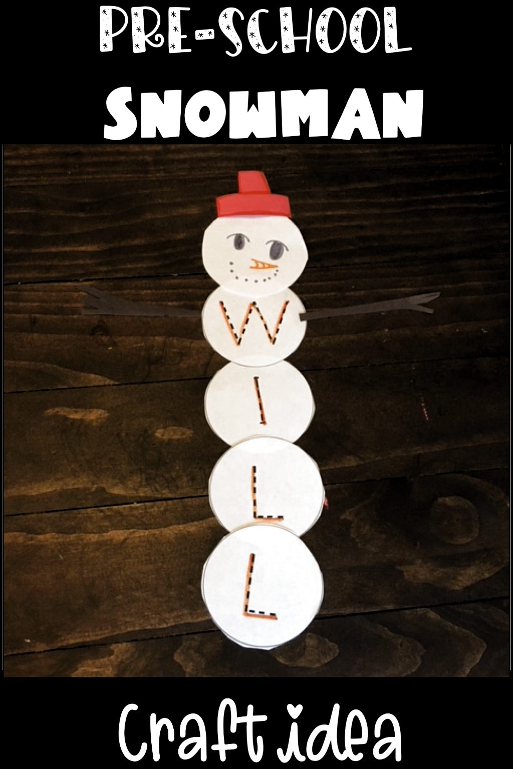 Are You Looking For A Fun Preschool Snowman Craft To Do