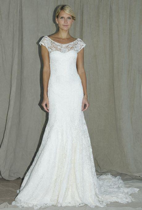 Lela Rose - Fall 2012 - The Grove Lace Sheath Wedding Dress with ...