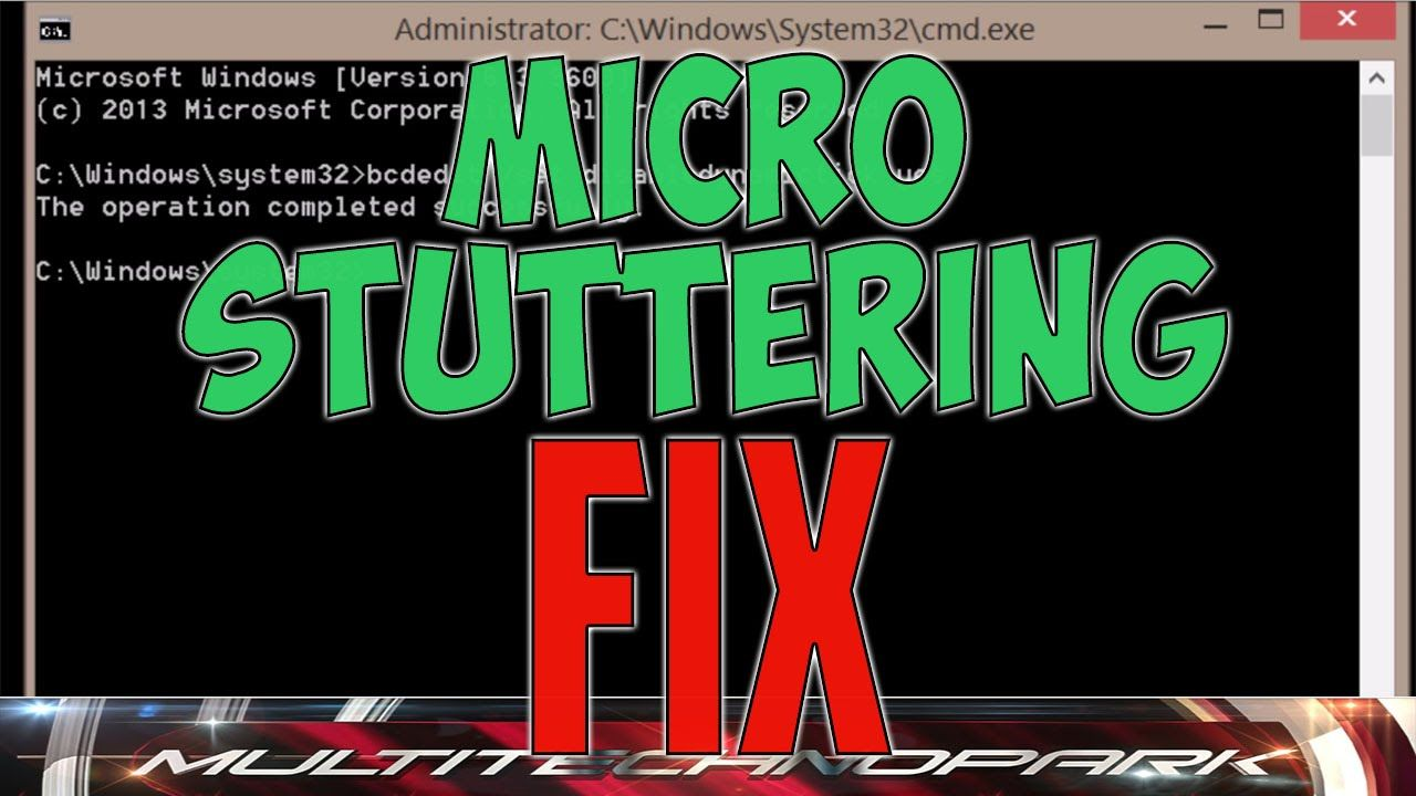 How to FIX Micro Stuttering lag in PC games - tips and trick