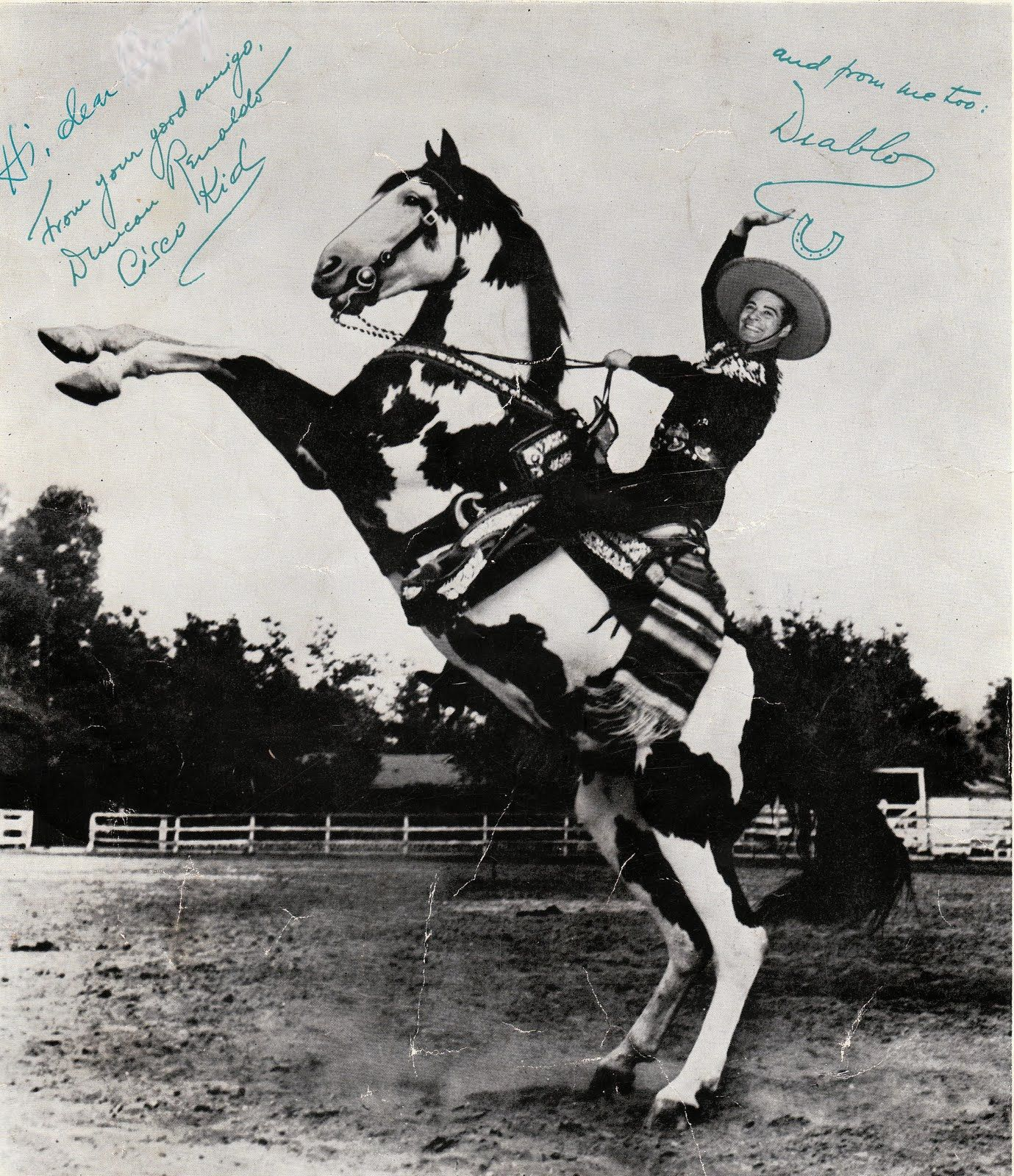 Diablo And The Cisco Kid Anyone Else Notice This Is Not Same Horse As Previous
