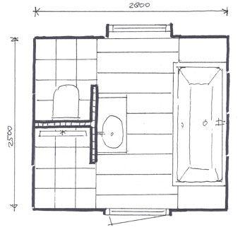 plattegrond badkamer gebruiksruimte pinterest ba os ba o y recamara
