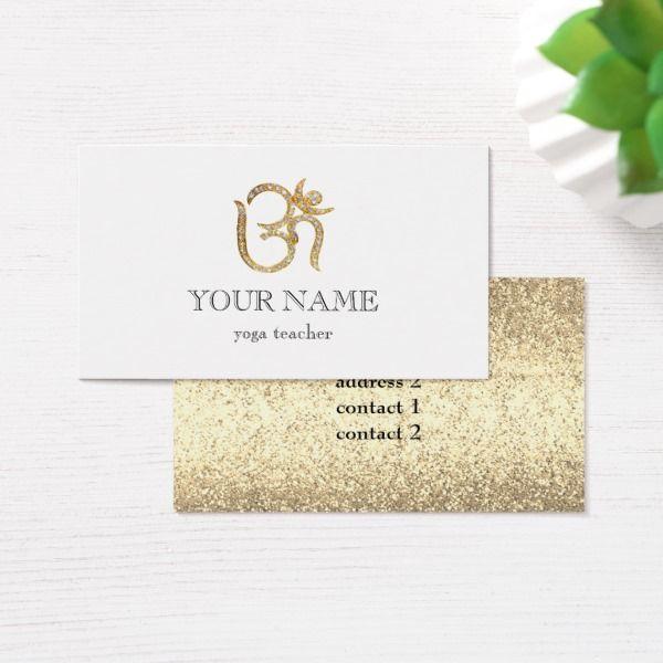Girly elegant yoga teacher pranava om sacred business card custom girly elegant yoga teacher pranava om sacred business card reheart Gallery