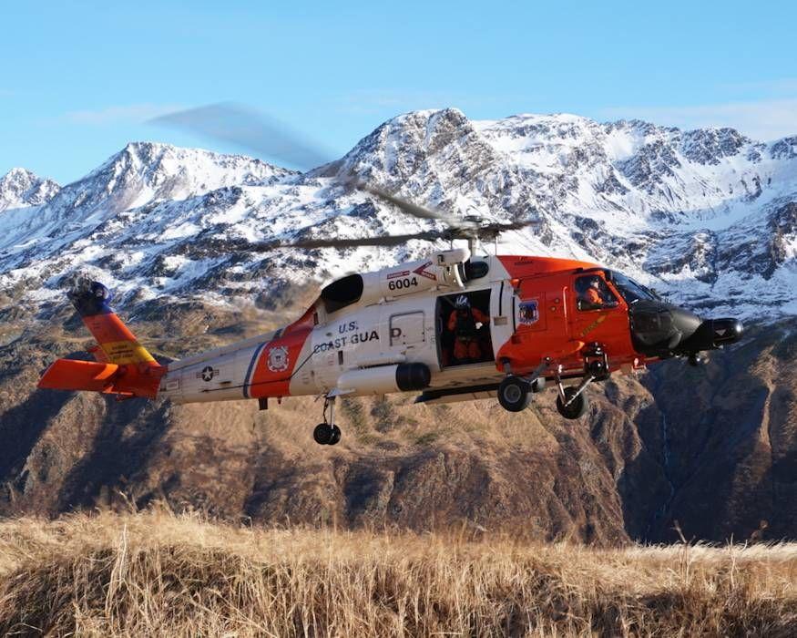 Mountain Search and Rescue In Alaska Coast guard, Search