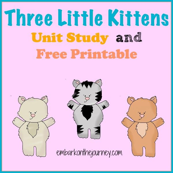 Embark On The Journey Navigating The Homeschool Waters One Day At A Time Little Kittens Nursery Rhymes Preschool Rhyming Activities