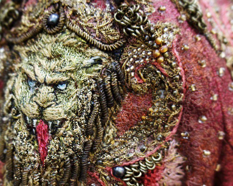 Jaw Dropping Game Of Thrones Embroideries Cover Magazine Carpets