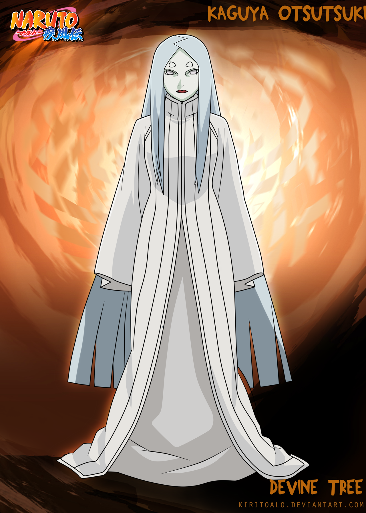 Kaguya Otsutsuki by KiritoALO imagens) Anime