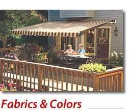 Sunsetter Awnings Retractable Deck And Patio Awning Sunsetter