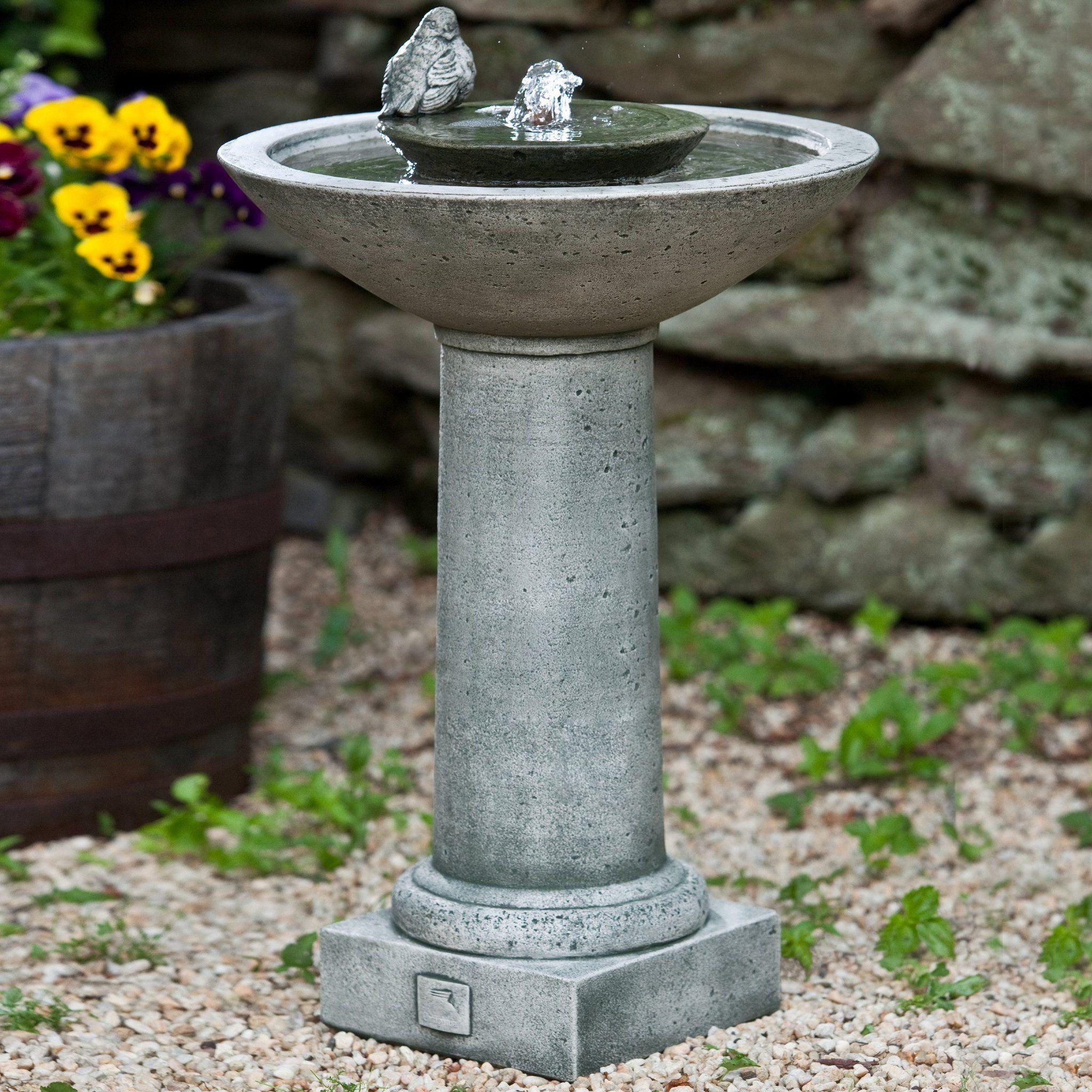Garden water features  Aya Bird Water Fountain  Outside  Pinterest  Water fountains