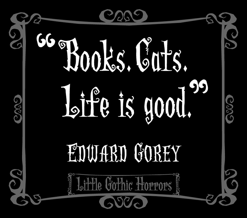 Little Gothic Horrors Delightfully Dark Quotes Edward