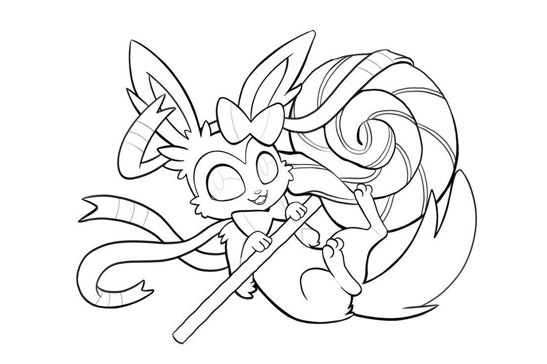 Printable Cute Pokemon Sylveon Coloring Pages Pokemon Coloring Pages Pokemon Coloring Coloring Pages