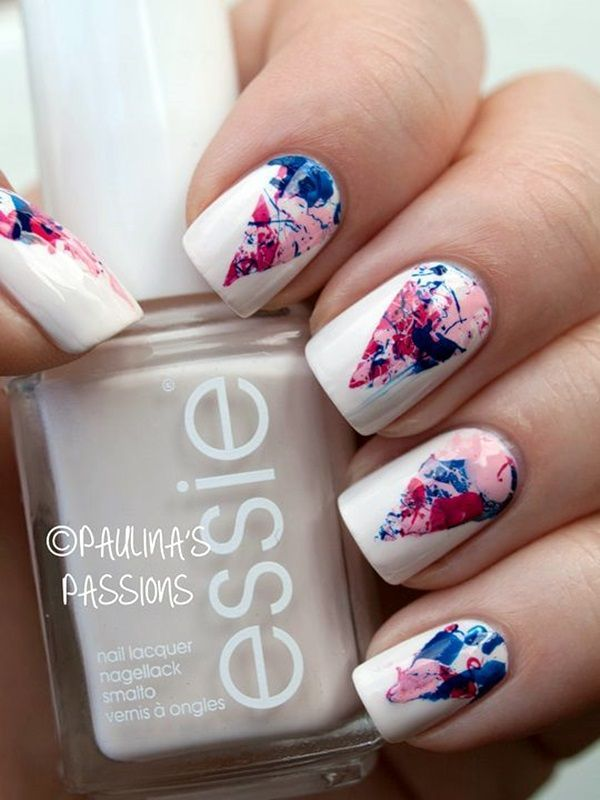 45 chic white nails art designs to try in 2015 nail design nail 45 chic white nails art designs to try in 2015 nail design nail art prinsesfo Choice Image