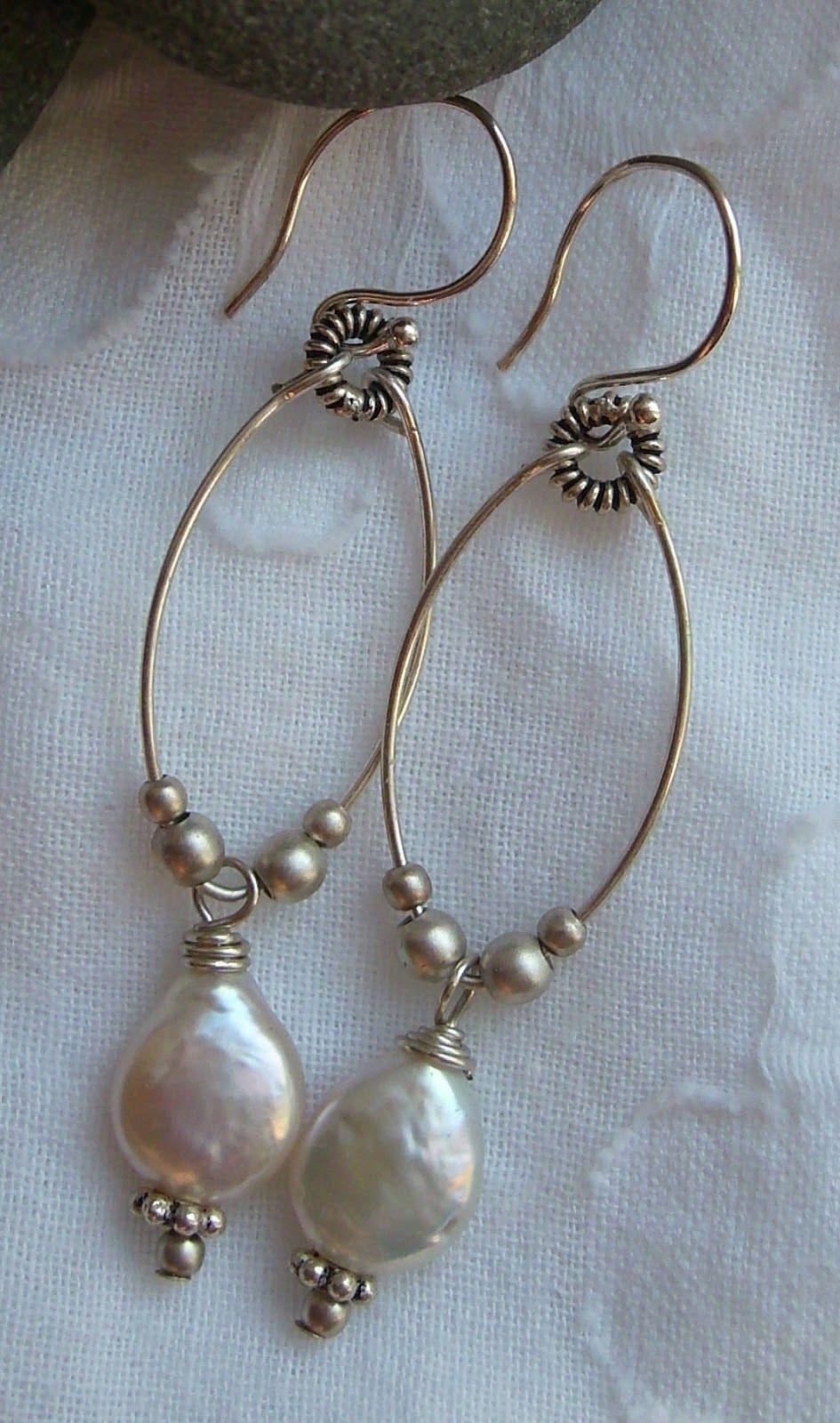 E_pearldangles.JPG 945×1.600 pixel   Bijoux   Pinterest   Jewelry ...