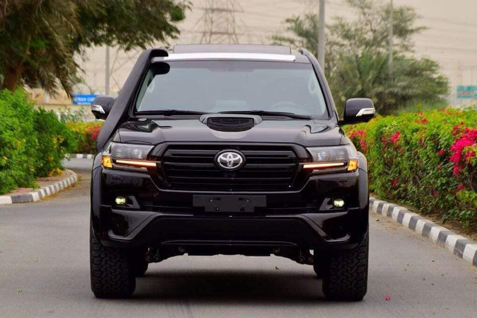2018 Model Toyota Land Cruiser V8 4.5l Diesel Automatic