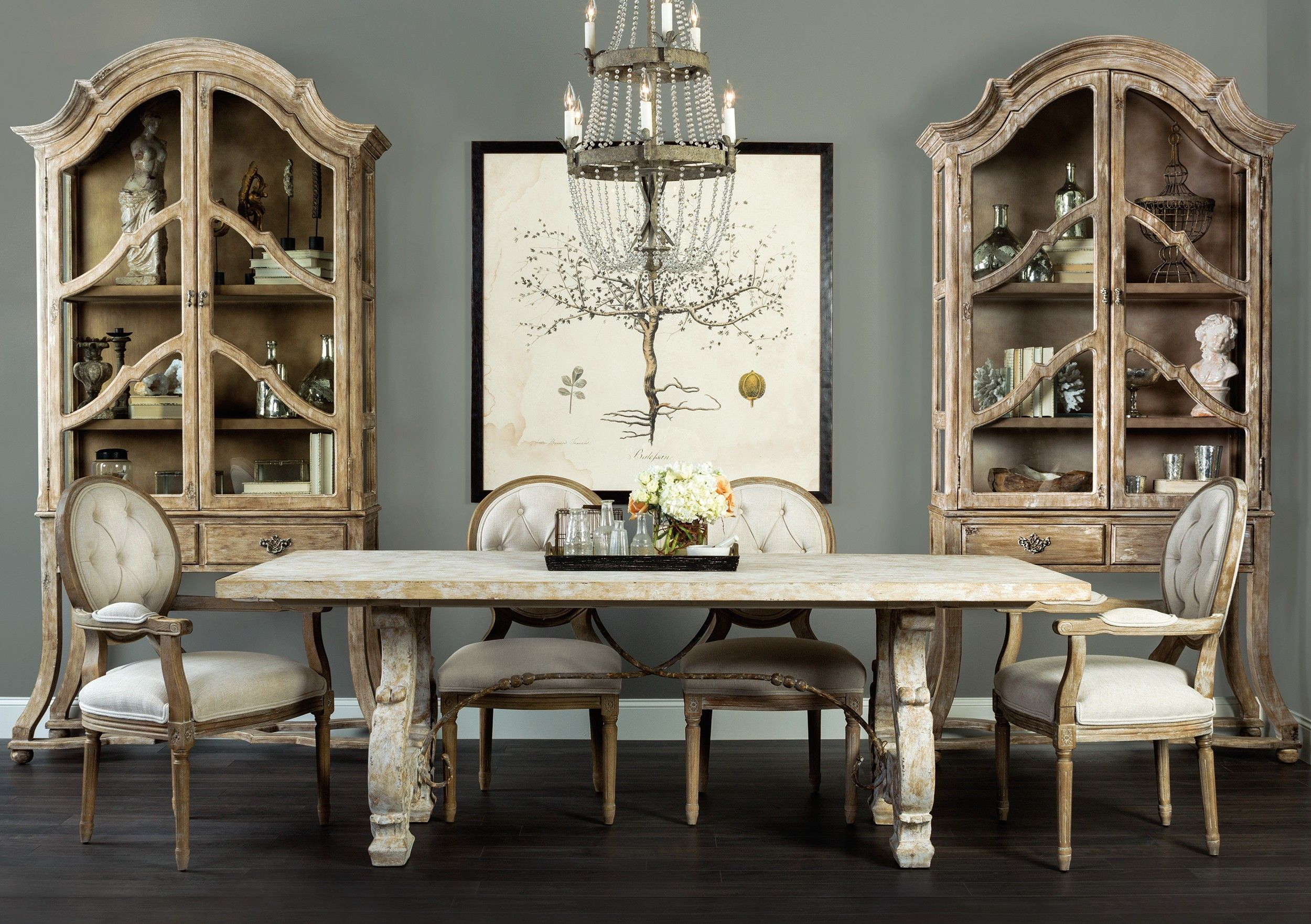 Superb Italian Lyre Dining Table   Dining   Furniture Good Looking