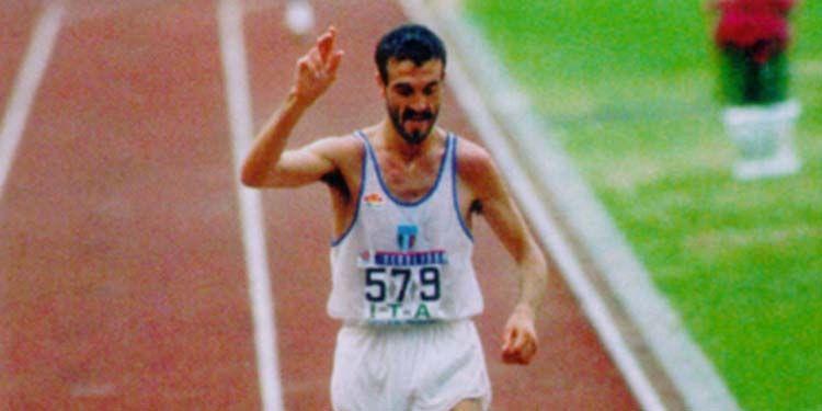16 aprile 1990 Bordin vince la maratona di Boston
