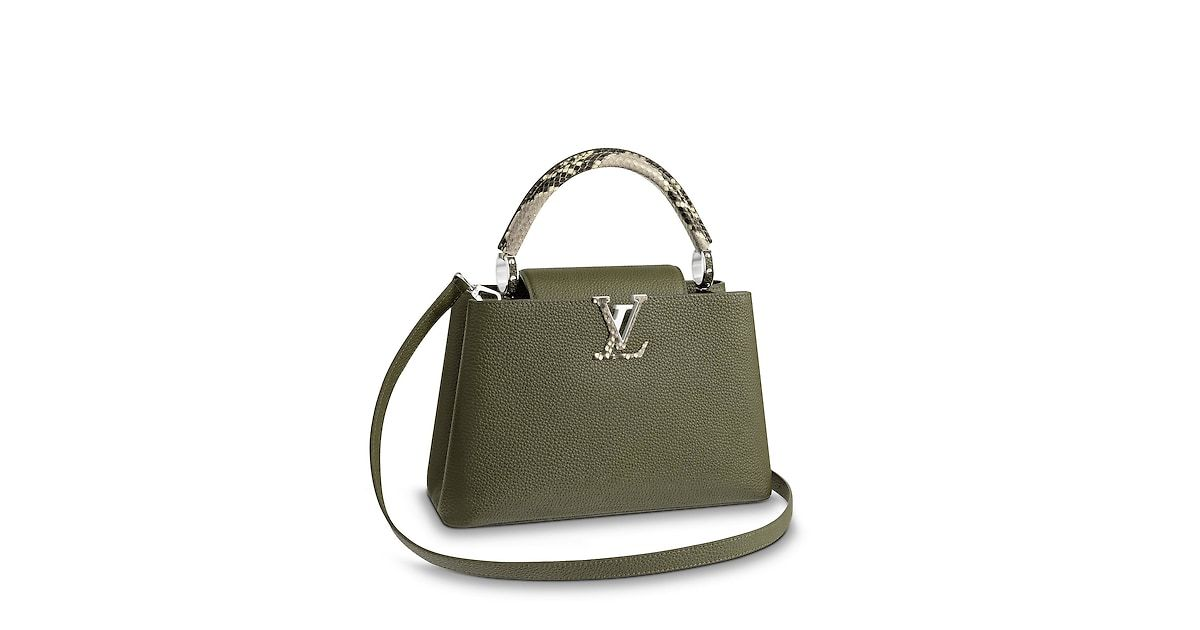 Louis Vuitton Official Usa Website Discover Our Latest Capucines Pm Collection For Women Exclusively