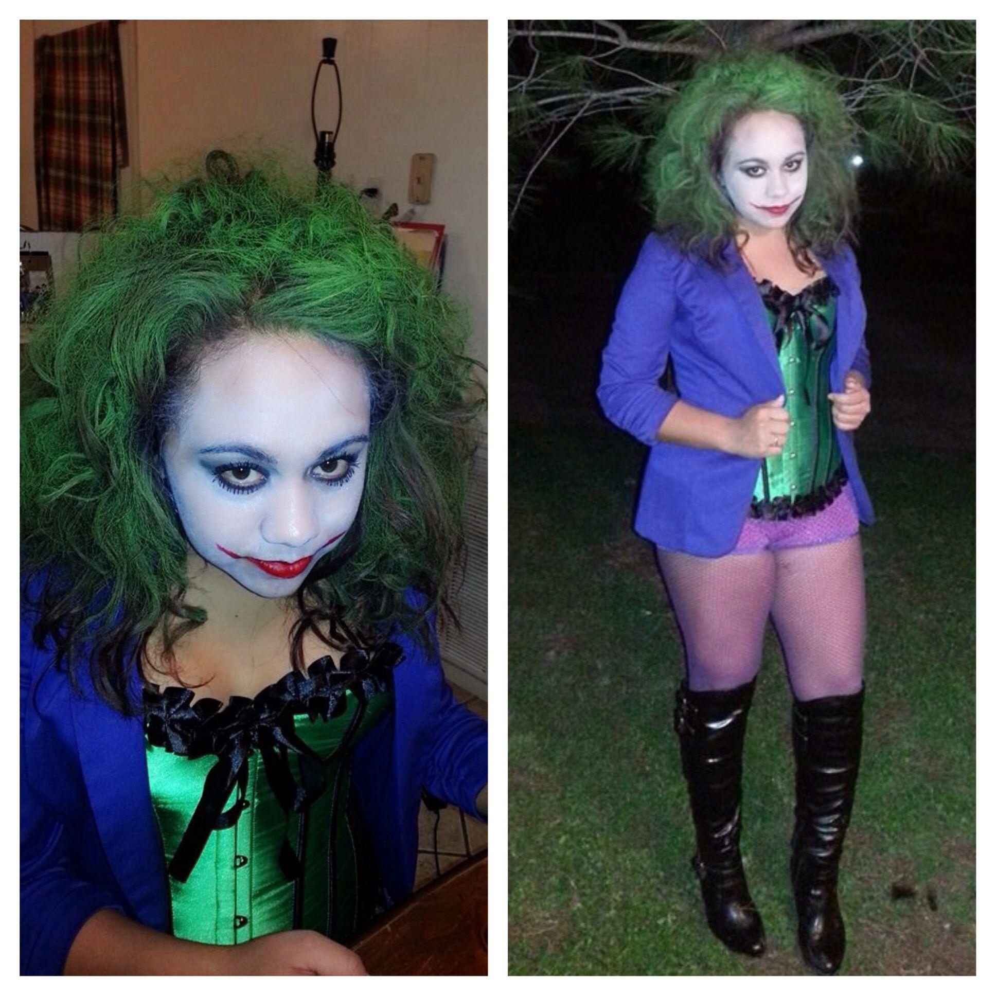 Diy joker costume holiday stuff pinterest diy joker costume diy joker costume solutioingenieria Images