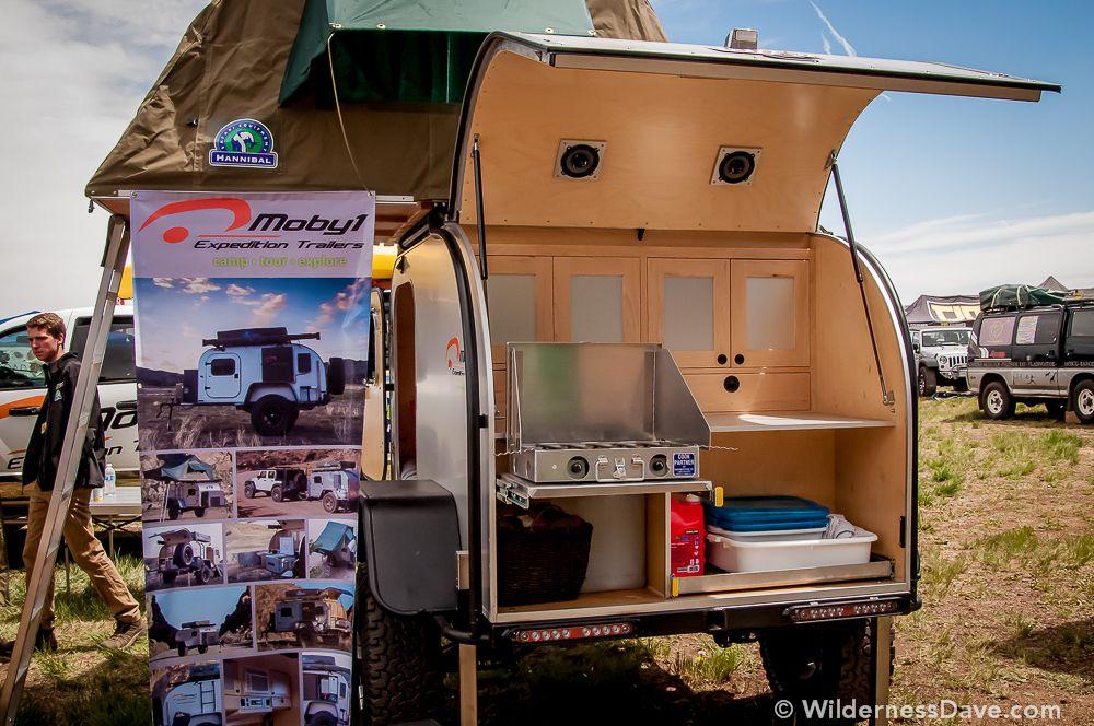 Test run with a teardrop trailer d for Teardrop camper kitchen ideas
