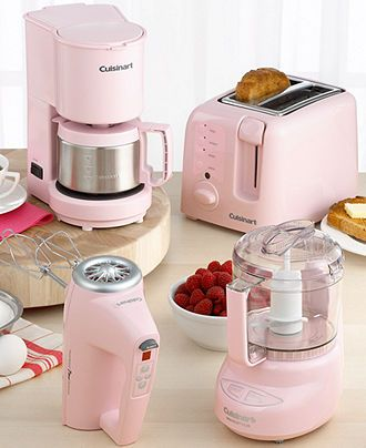Cuisinart Pink Collection Reviews Small Appliances Kitchen Macy S Pink Kitchen Pastel Kitchen Kitchen Appliances