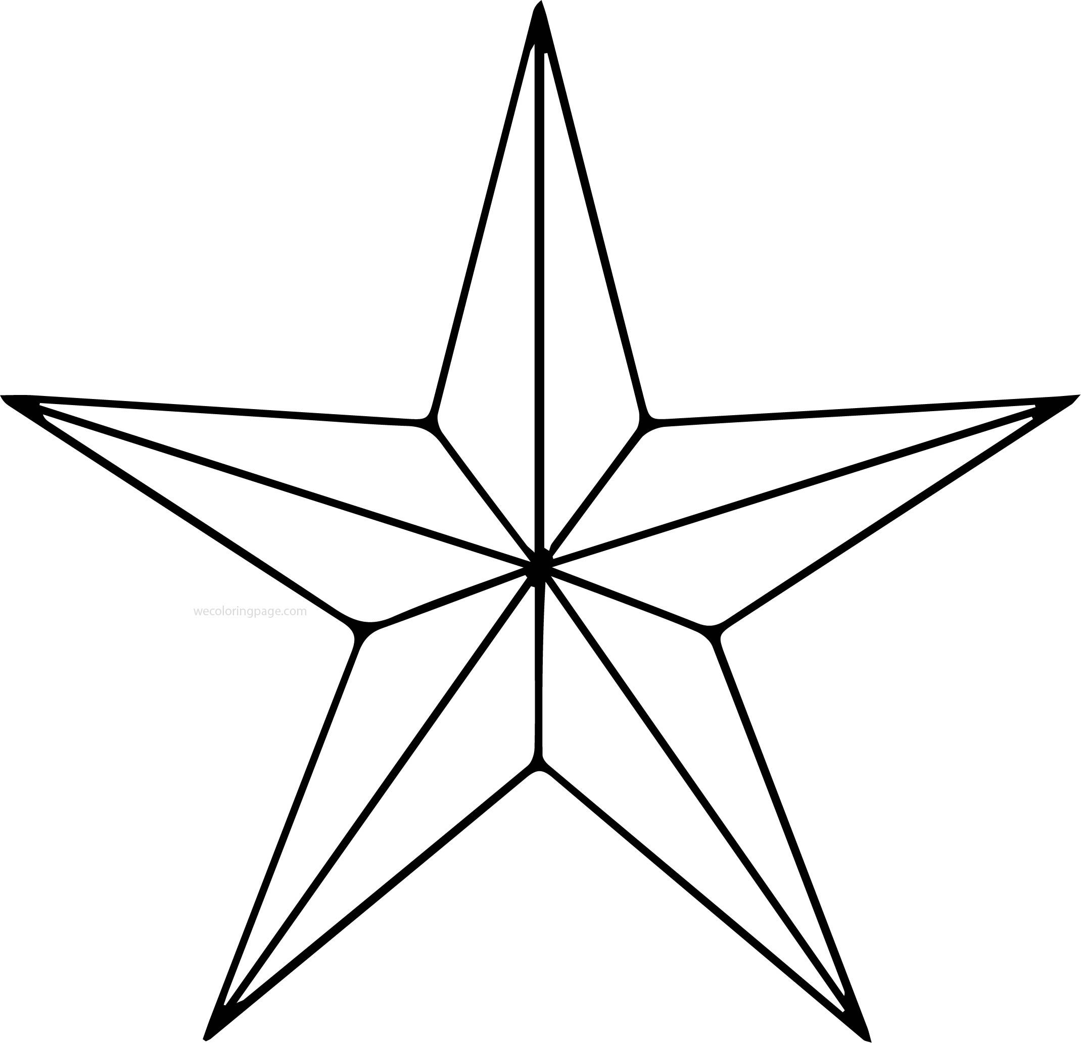 Awesome Diamond Star Coloring Pages Star Coloring Pages