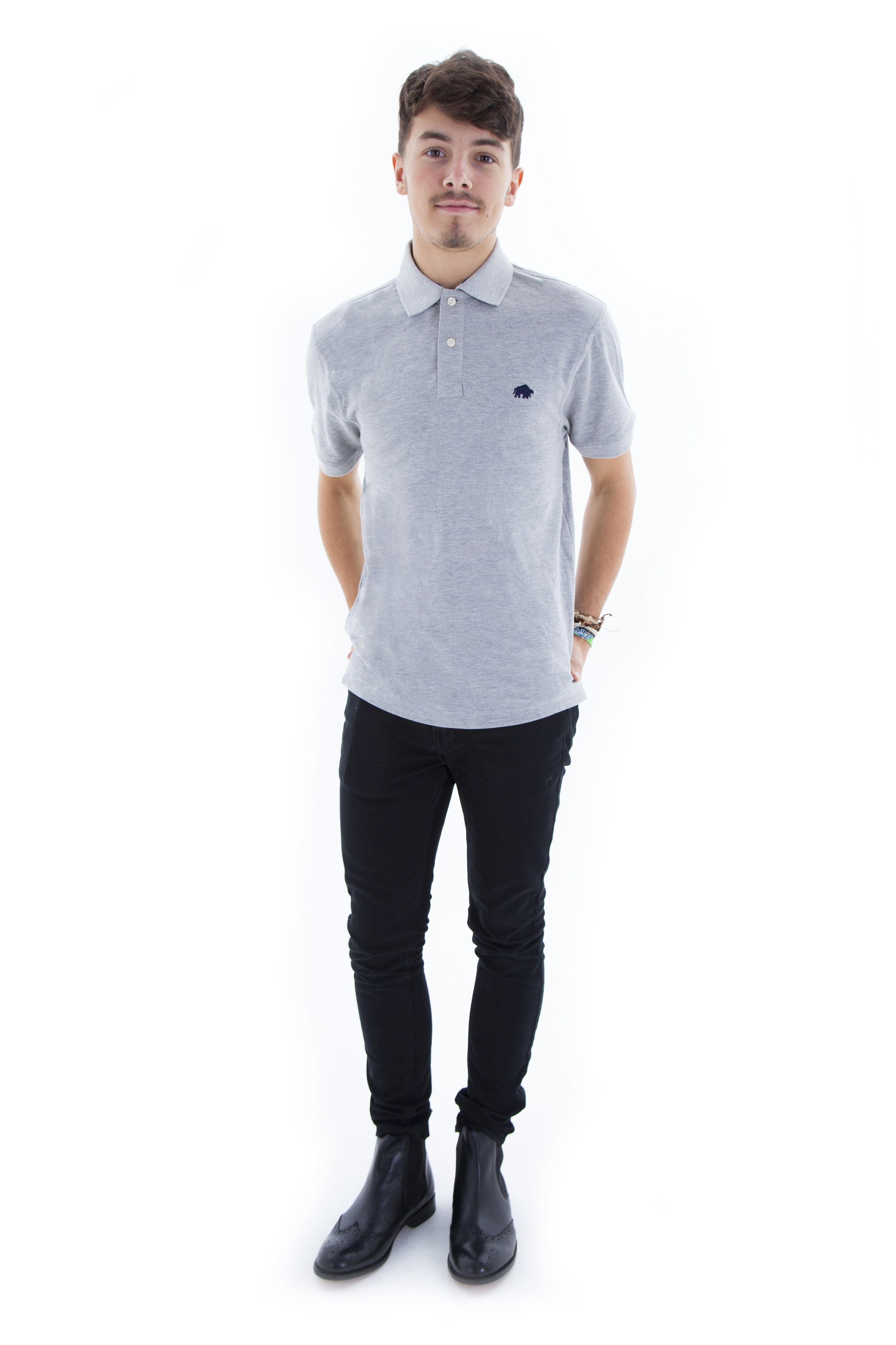 6c0a739d954 Raging Bull polo shirt and Gucinari G-1202 chelsea boots