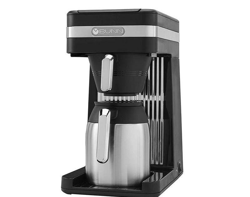 Bunn Speed Brew Coffee Maker Platinum Ecs Coffee Bunn Pour O Matic