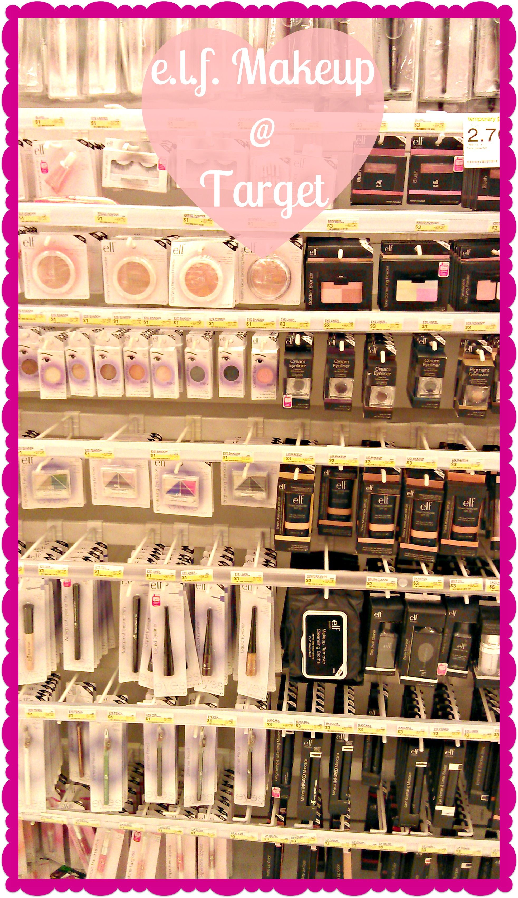 Frugally Fashionable My 20 Makeup Haul With E L F Cosmetics Elf Makeup Target Makeup Trendy Makeup