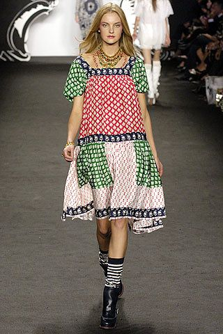 Anna Sui Spring 2007 Ready-to-Wear Collection Photos - Vogue