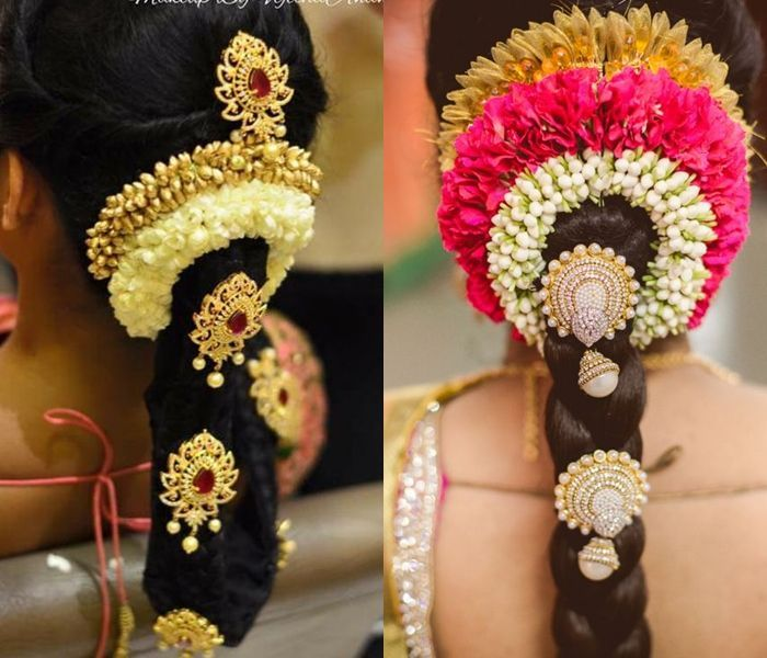 South Indian Wedding Bridal Hairstyles: South Indian Wedding Hairstyles